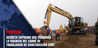 carné de trabajador de construcción civil