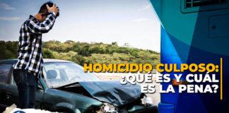 ¿Qué es el homicidio culposo en Perú?