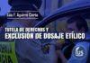 Tutela de derechos y exclusión de dosaje etílico