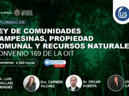 Diplomado en Ley de Comunidades Campesinas, Propiedad Comunal y Recursos Naturales