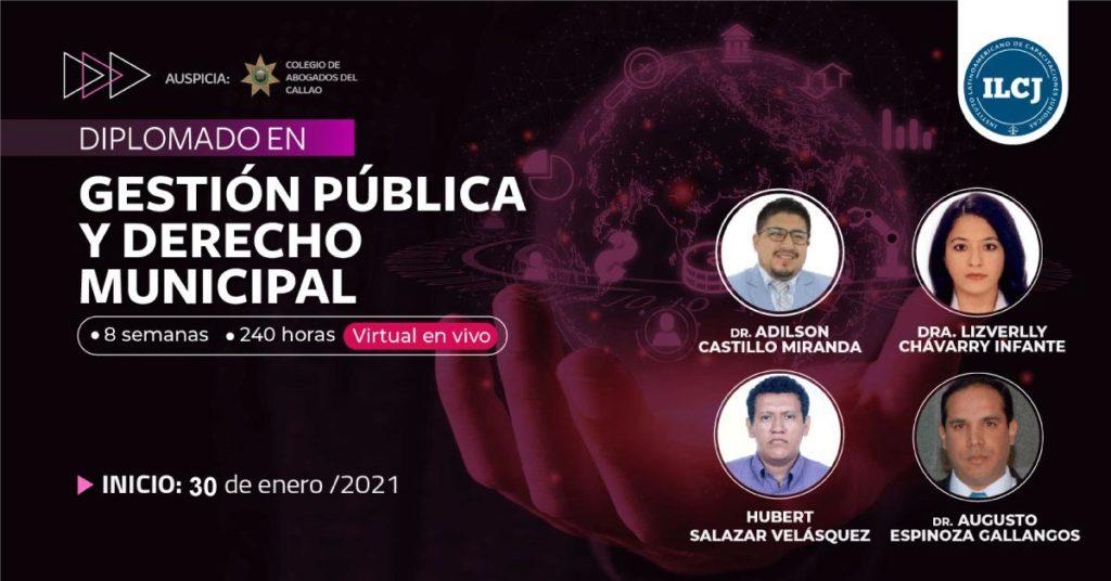 Diplomado en gestión pública y derecho municipal