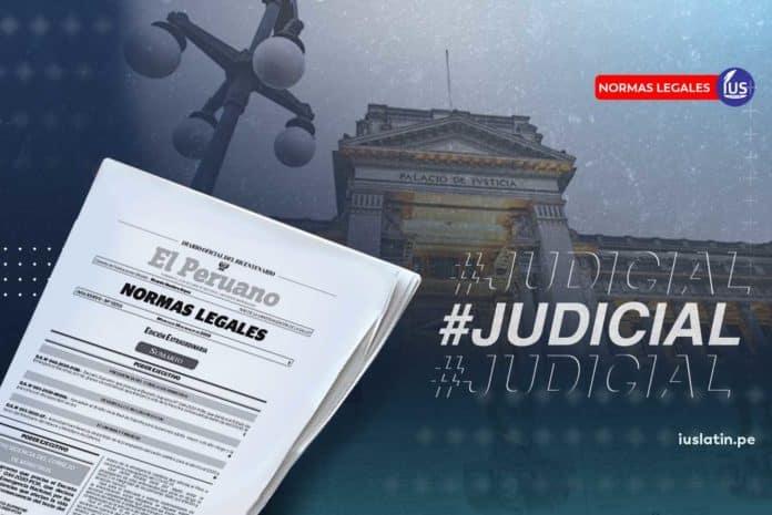 Designan Juez de la Sala Especializada en Extinción de Dominio de Lima
