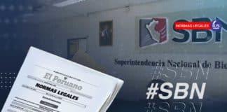 SBN emite disposiciones respecto a sus procedimientos administrativos virtuales