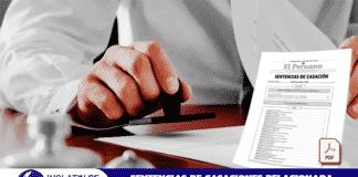 Sentencias de Casaciones relacionada al Derecho Administrativo - Ley N° 27444
