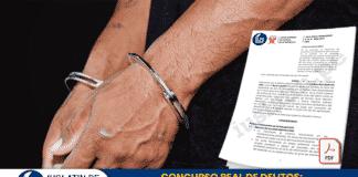 CONCURSO REAL DE DELITOS: Prueba irregular y actas policiales
