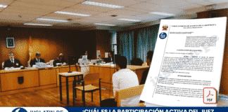 ¿Cuál es la participación activa del juez en los interrogatorios y su imparcialidad?