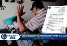 Declaración testimonial de la víctima como único testigo tiene calidad de prueba válida de cargo