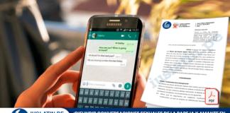 Difundir conversaciones sexuales de la pareja y amante en un grupo de WhatsApp constituye delito de difamación