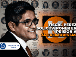 Pérez solicita poner en prisión a 34 fujimoristas por lavar más de US$ 17,3 millones