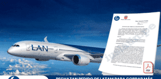 Rechazan pedido de Latam para cobrar más por postergar o transferir pasajes