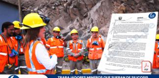 Trabajadores mineros que sufran de silicosis o su equivalente deben acceder al derecho de pensión