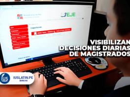 Visibilizan decisiones diarias de magistrados