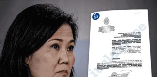 Fiscal pide prisión preventiva contra Keiko Fujimori