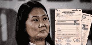 Fuerza Popular pide que Reniec verifique las firmas de actas