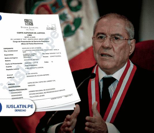 Villa Stein presenta acción de amparo para declarar nula la elección de segunda vuelta
