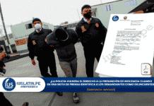 La policía vulnera el derecho a la presunción de inocencia cuando en una nota de prensa identifica a los demandantes como delincuentes