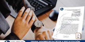Trabajadores no sujetos a fiscalización inmediata tienen derecho a horas extras