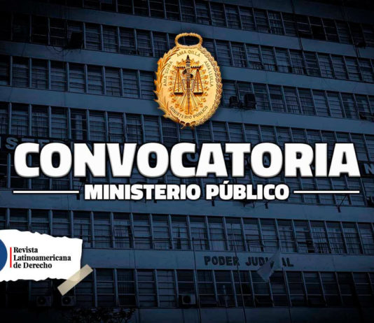 Ministerio Público realiza convocatorias para cubrir más de 30 plazas