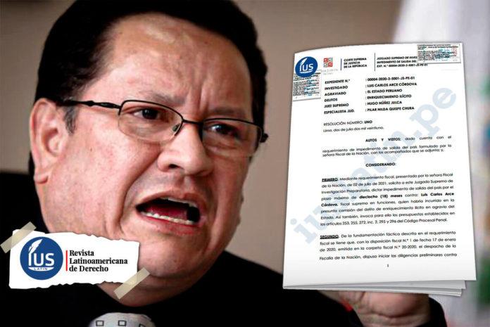 Fiscalía solicitó impedimento de salida del país contra Luis Arce