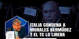 Italia condena a Morales Bermúdez y el TC lo libera