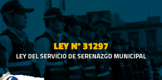 Ley 31297 Ley del servicio de serenazgo municipal