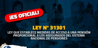 Afiliados a ONP con aporte menor a 20 años accederían a pensión inmediata