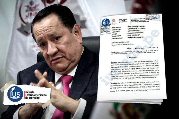 Luis Arce Córdova es destituido por audios con César Hinostroza