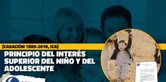 Principio del interés superior del Niño y del Adolescente