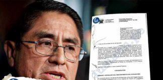 gobierno de España aprueba su extradición