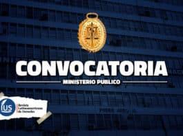 Ministerio Público realiza convocatorias para cubrir más de 35 plazas