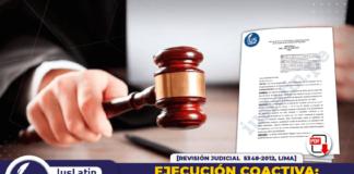 Ejecución Coactiva: exigencia de constancia de imputación de responsabilidad solidaria y cargo de su notificación
