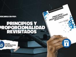 Principios y proporcionalidad revisitados