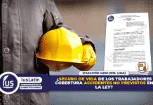 Seguro de vida de los trabajadores cobertura accidentes no previstos en la ley