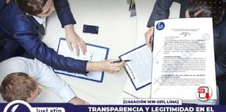 Transparencia y legitimidad en el procedimiento concursal administrativo