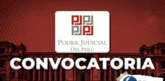 Poder Judicial realiza convocatorias CAS para cubrir alrededor de 45 plazas