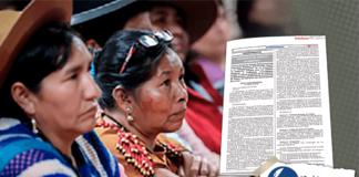 crean grupo de trabajo sobre propuesta de desarrollo para pueblos indígenas