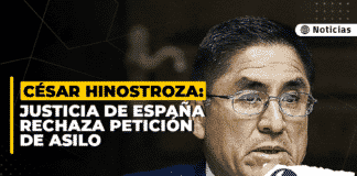 César Hinostroza: justicia de España rechaza petición de asilo