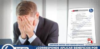 ¿Corresponde aplicar beneficios por convenio colectivo al personal reincorporado por medida cautelar
