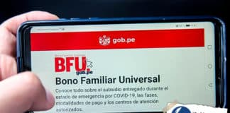 Bono familiar universal: actualizan segundo grupo de hogares beneficiarios