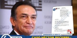 Caso Héctor Becerril Presupuestos para el control judicial de inadmisión de diligencias sumariales
