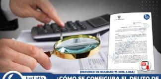 ¿Cómo se configura el delito de defraudación tributaria