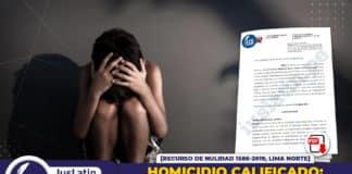 Homicidio calificado sentenciado mató a madre (e hija) porque le pidió dinero para no continuar con denuncia por violación de menor