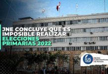 JNE concluye que es imposible realizar elecciones primarias 2022