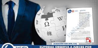 Suprema observa a jueces por citar como fuente a Wikipedia en resoluciones