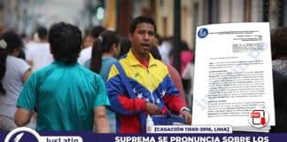 Suprema se pronuncia sobre los derechos del trabajador extranjero informal