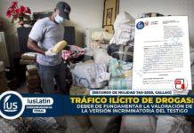 Tráfico ilícito de drogas deber de fundamentar la valoración de la versión incriminatoria del testigo