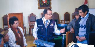 convocan a elección popular de Jueces de Paz en Canta