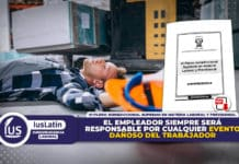 el empleador siempre será responsable por cualquier evento dañoso del trabajador - vi pleno jurisdiccional supremo en materia laboral y previsional